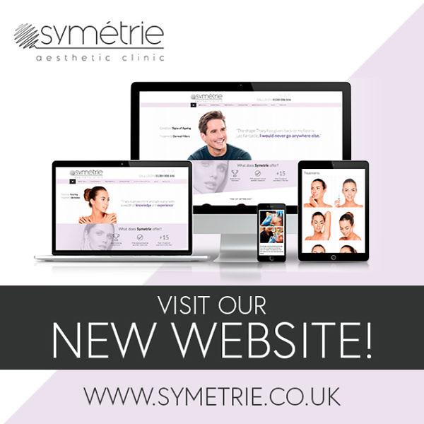 Symétrie Aesthetic Clinic Oldswinford, Stourbridge New Website