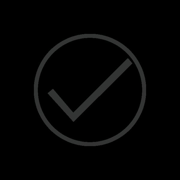 Tick Icon Final Black