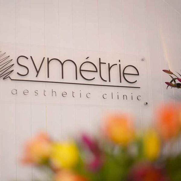 Symétrie Aesthetic Clinic Sign